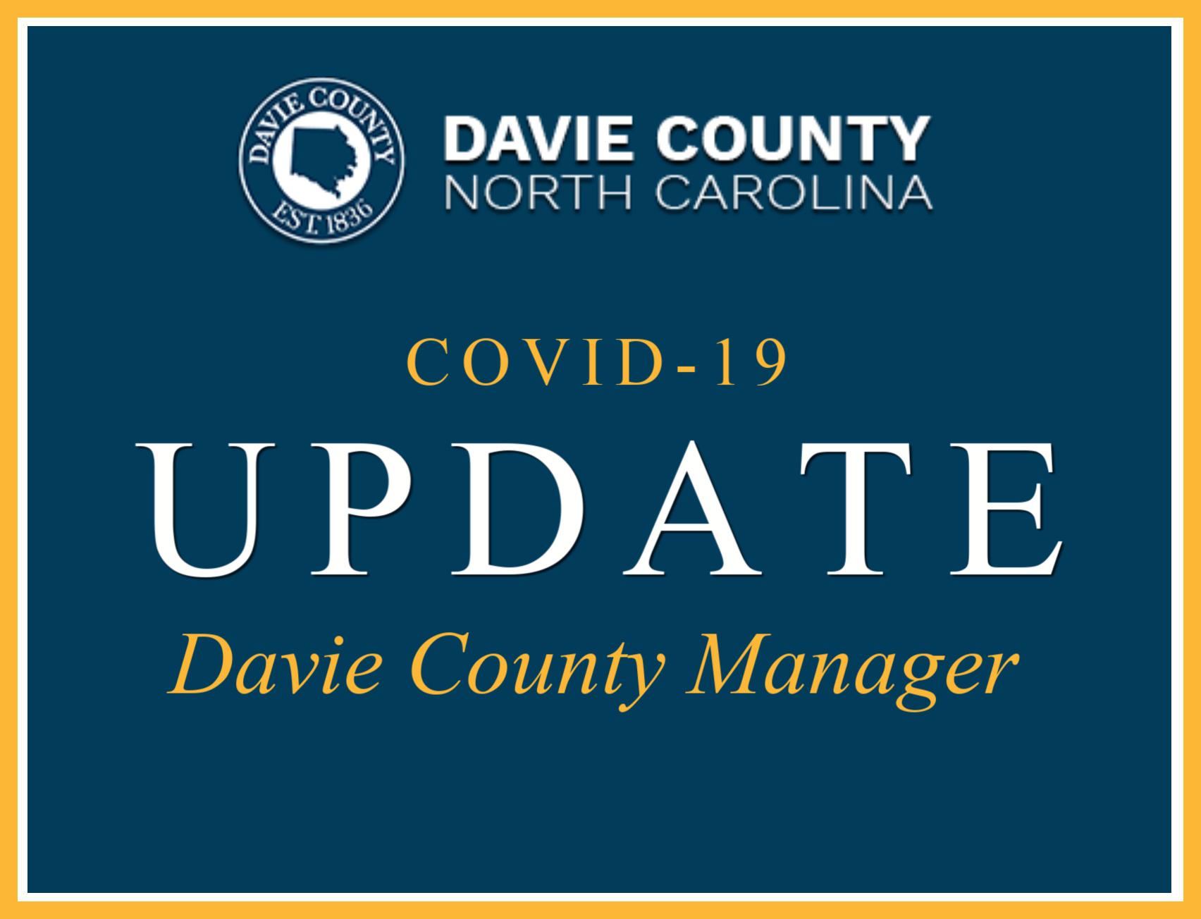 Davie County NC COVID-19 Updates and Resources with Links