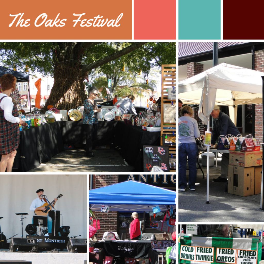 The Oaks Festival in downtown Mocksville is fun for the family every fall