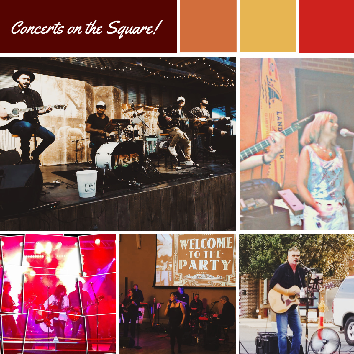 Concerts on the Square in Mocksville
