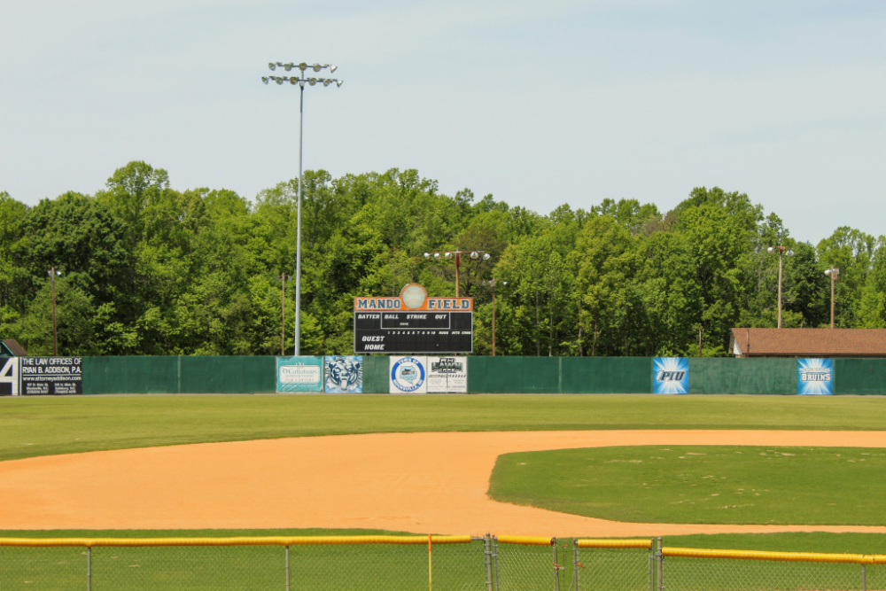Mando Baseball Field at Rich Park in Mocksville NC