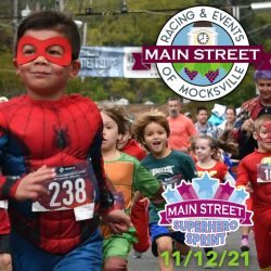 Mocksville Event Super Hero Sprint